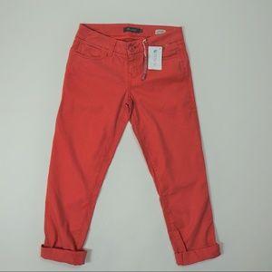 Level 99 Anthropologie Orange Crop Jeans